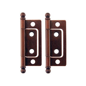 Restorers Classic 2 Inch Mission Non Mortise Hinge - Pair