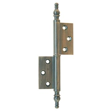 Restorers Classic 3 1/4 Inch Armoire Right Hand Flag Hinge