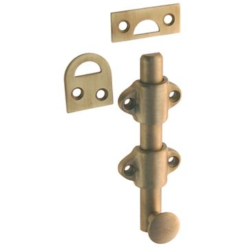 Restorers Classic 4 Inch Heavy Duty Surface Bolt