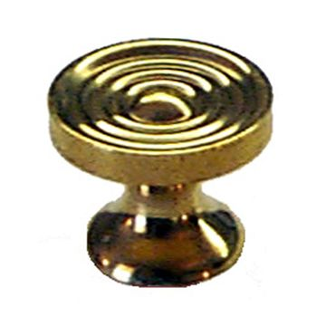 Restorers Classic Bookcase Knob With Rings