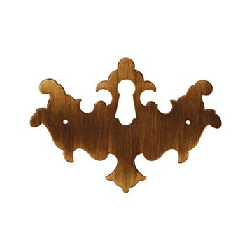 Restorers Classic Chippendale Escutcheon With Keyhole