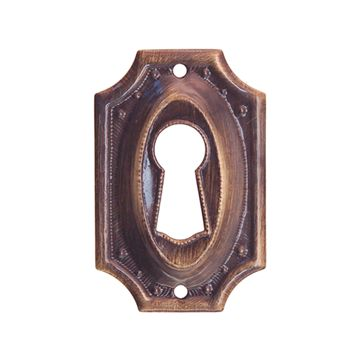 Restorers Classic Colonial Keyhole Escutcheon