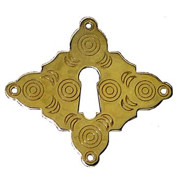 Restorers Classic Diamond Keyhole Escutcheon