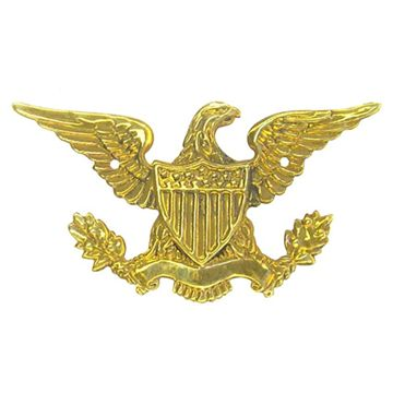 Restorers Classic Eagle Embossed Ornament