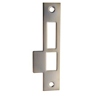 Restorers Classic Exterior Door Lock 6 Inch Strike Plate