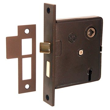 Restorers Classic Interior Reversible Mortise Lock