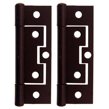 Restorers Classic Large 3 Inch Non Mortise Hinge - Pair