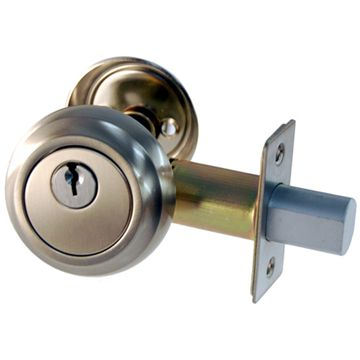 Restorers Classic Low Profile Deadbolt - 2 3/8 Inch Backset