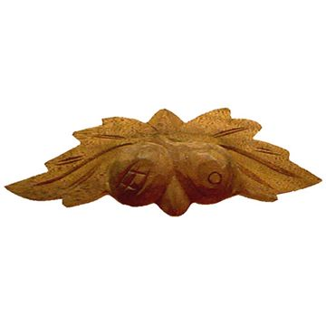 Restorers Classic Medium Fruit & Leaves Wooden Pull