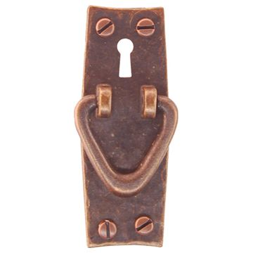 Restorers Classic Mission Bowed Vertical Cabinet Pull