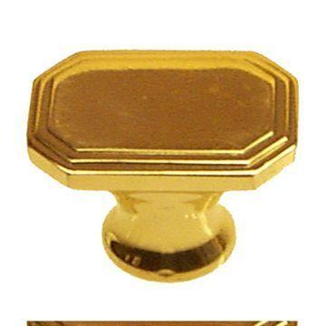 Restorers Classic Oblong Art Deco Knob