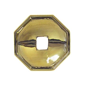 Restorers Classic Octagon Backplate For Pendant Drop Pull