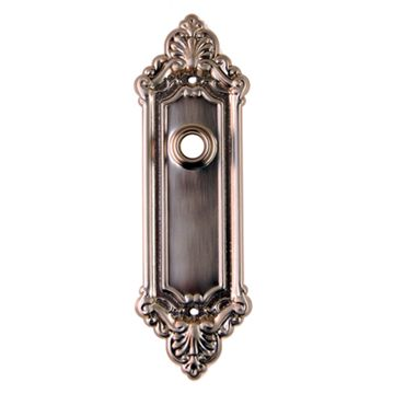 Restorers Classic Ornate Door Backplate Only