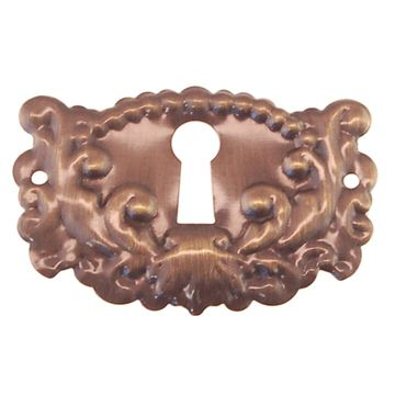 Restorers Classic Ornate Keyhole Escutcheon