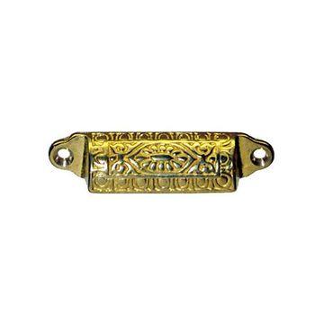 Restorers Classic Ornate Small Eastlake Bin Pull