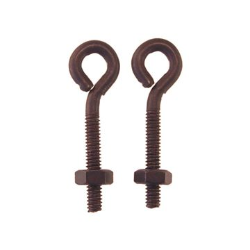 Restorers Classic Plain Eyelets With Nuts