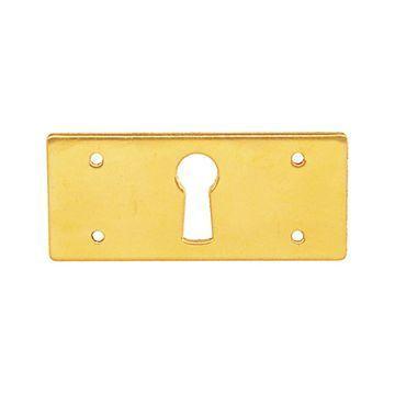 Restorers Classic Rectangular Keyhole Escutcheon