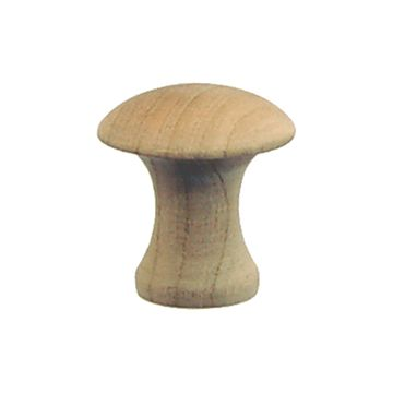 Restorers Classic Shaker Plain Wooden Knob