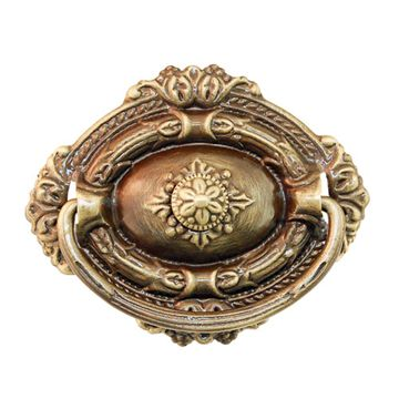 Restorers Classic Single Post Victorian Ring Pull