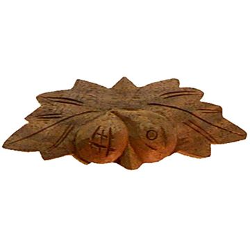 Restorers Classic Small Fruit & Leaves Wooden Pull