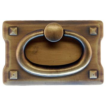 Restorers Classic Small Mission Drawer Ring Pull