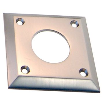 Restorers Classic Square Deadbold Cylinder Collar Plate