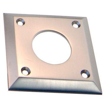 Restorers Classic Square Deadbolt Cylinder Collar Plate
