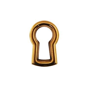 Restorers Classic Stamped Brass Keyhole Insert