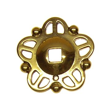Restorers Classic Star Backplate for Pendant Drop Pull