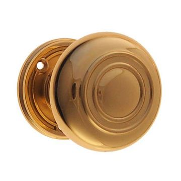 Restorers Classic Passage Embossed 2 1/4 Inch Forged Door Set - Hollow Brass