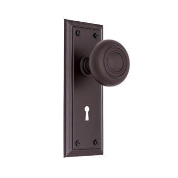 Restorers Classic Stepped Interior Mortise Lock Set - Hollow Stepped