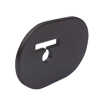 Quiet Glide Bi-Parting Center Door Stop