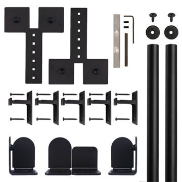Quiet Glide Dually Rolling Door Hardware Kit