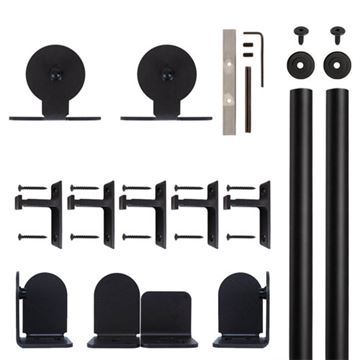 Quiet Glide Top Mount Rolling Door Hardware Kit
