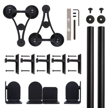 Quiet Glide V-8 Rolling Door Hardware Kit