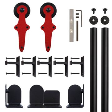 Quiet Glide Wright Rolling Door Hardware Kit
