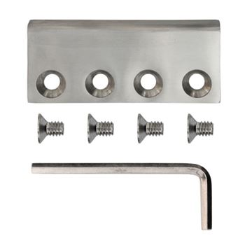 Stainless Glide Flat Rail Connector