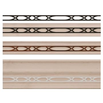 Designs Of Distinction Abbey Light Rail Molding Insert