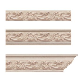 Designs of Distinction Acanthus Crown Molding Insert