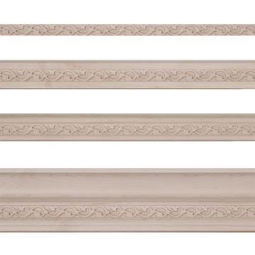 Designs of Distinction Baroque Light Rail Molding Insert