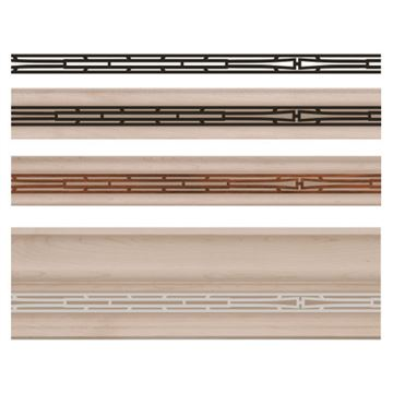 Designs of Distinction Basilica Light Rail Molding Insert
