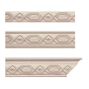 Designs of Distinction Deco Crown Molding Insert