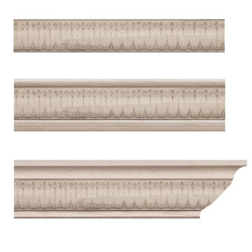 Designs Of Distinction Empress Leaf Crown Molding Insert