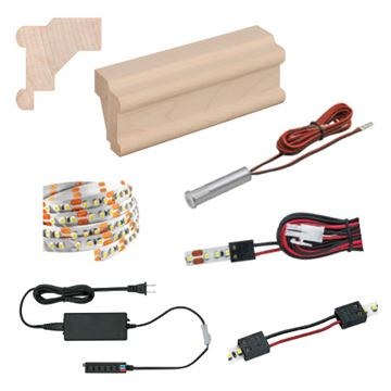 Designs Of Distinction Light Ready Light Rail Kit With Traditional Molding