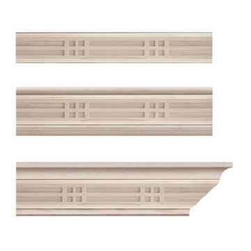 Designs of Distinction Mission Crown Molding Insert