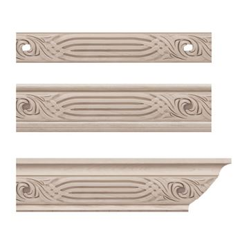 Designs of Distinction Nouveau Crown Molding Insert