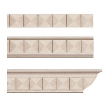 Designs of Distinction Pinnacle Crown Molding Insert