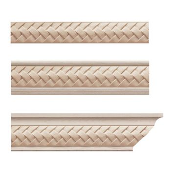 Designs of Distinction Weaved Crown Molding Insert