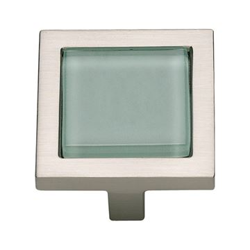 Atlas Homewares Spa Green Square Knob