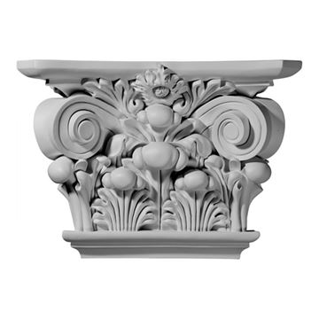 Restorers Architectural 11 7/8 Inch Acanthus Urethane Capital